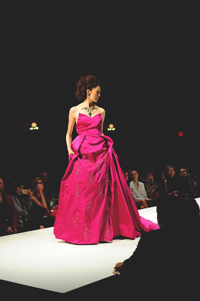 Malan Breton | StyleFW | NYFW | #RedhuxNYC | pink gown