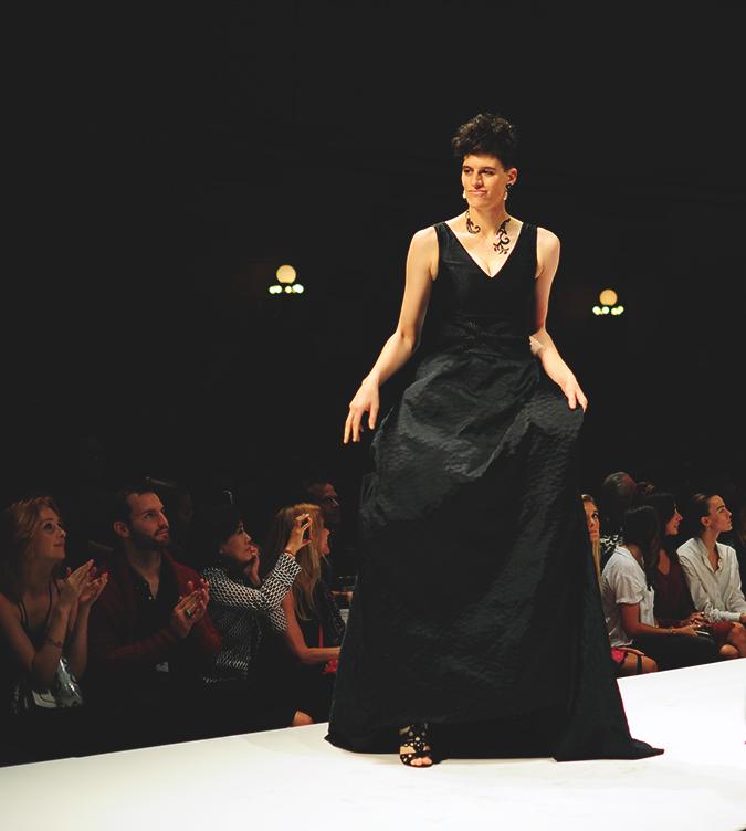 Malan Breton | StyleFW | NYFW | #RedhuxNYC | black gown