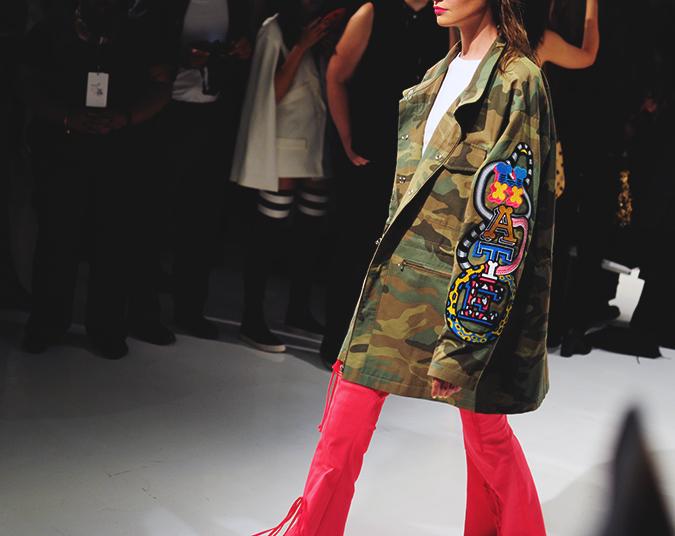 KYE | NYFW | #RedhuxNYC | army jacket