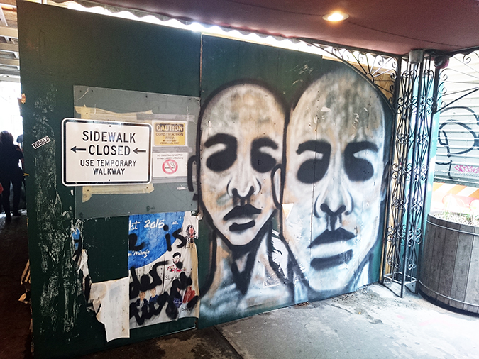Tess Giberson | NYFW | #RedhuxNYC | street art