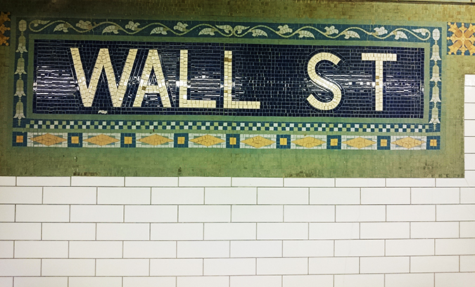 Airbnb | New York City | #RedhuxNYC | wall st subway tiles