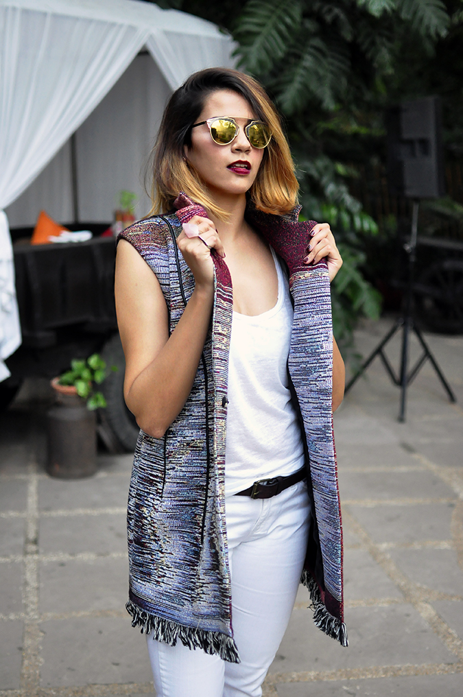 #AIFWSS16 | Dior | Akanksha Redhu | front half white hand on collar