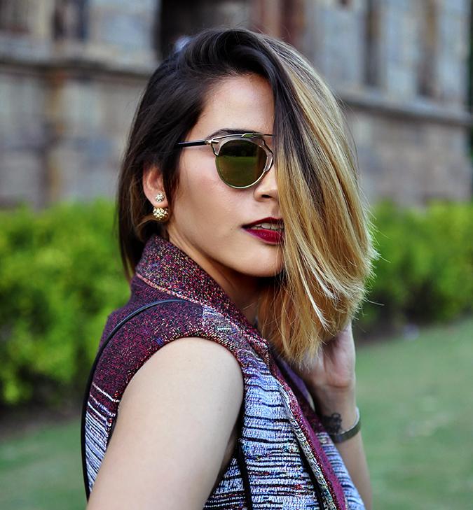 #AIFWSS16 | Dior | Akanksha Redhu | face far