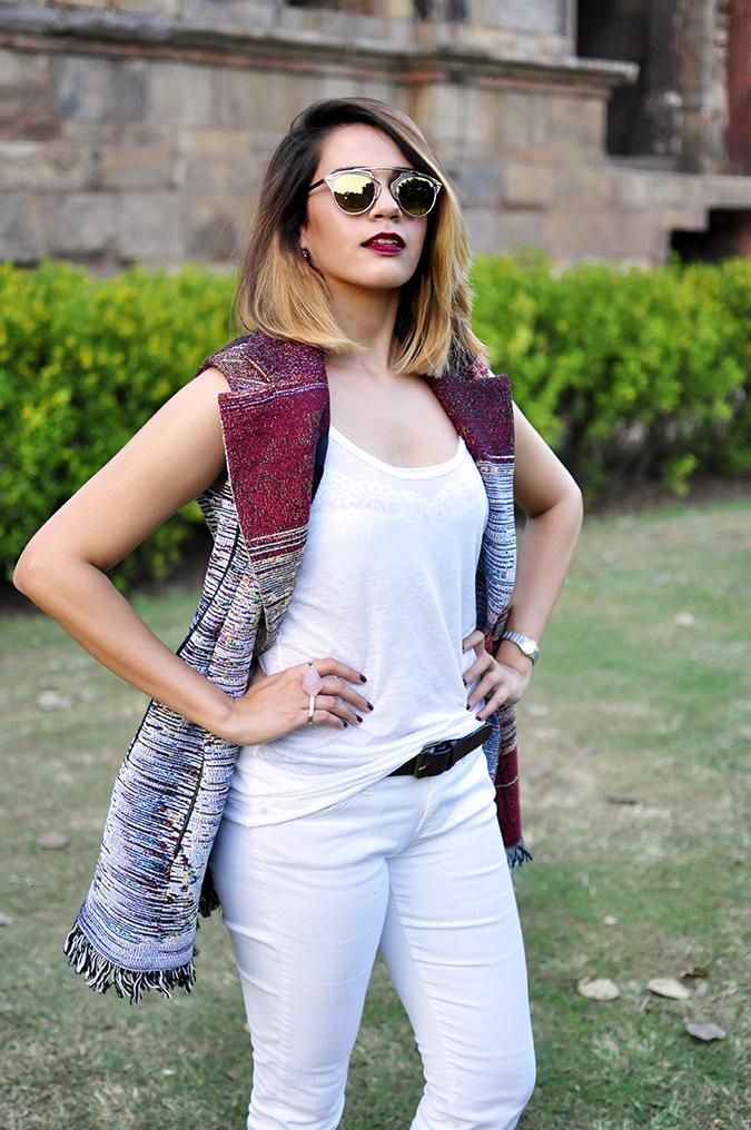 #AIFWSS16 | Dior | Akanksha Redhu | front half white