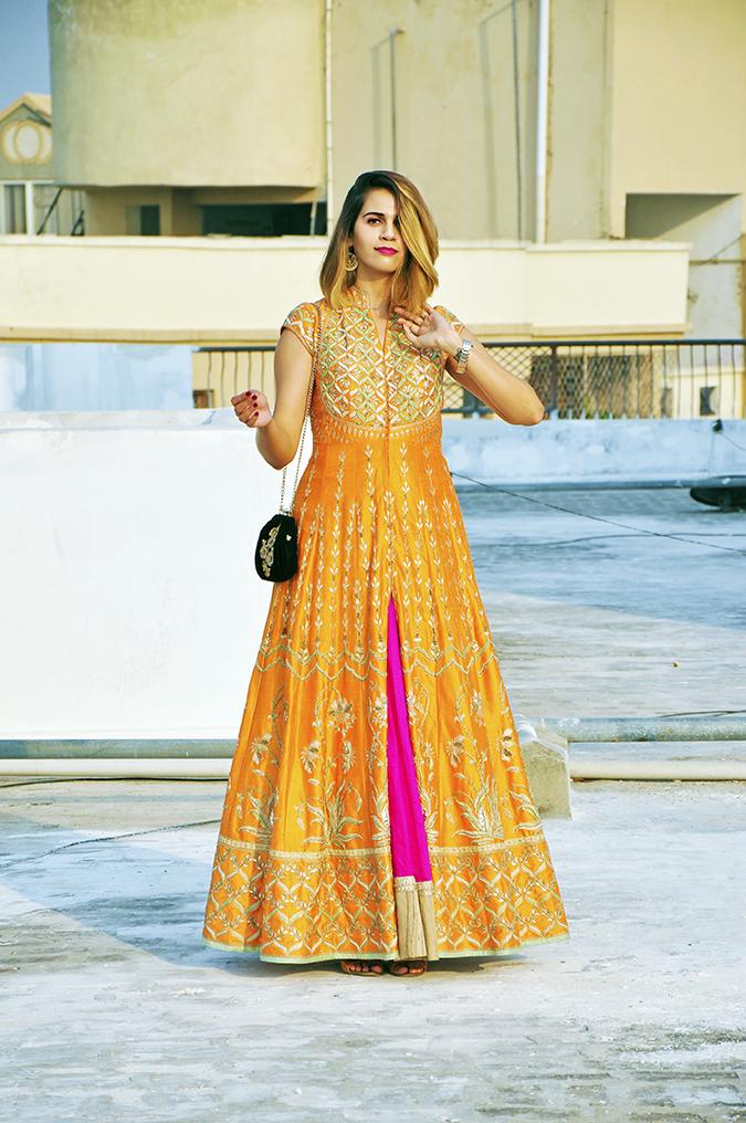 Anita Dongre | Akanksha Redhu | #ootd | full front