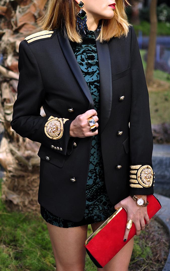 Balmain x H&M | #HMBalmaination | Akanksha Redhu | faceless blazer