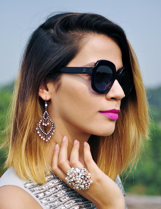 Vero Moda Marquee | Qutub | Akanksha Redhu | face earring