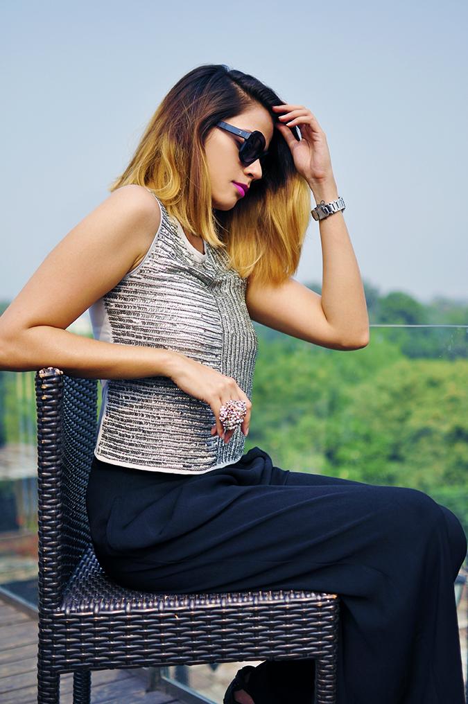 Vero Moda Marquee | Qutub | Akanksha Redhu | sitting in chair