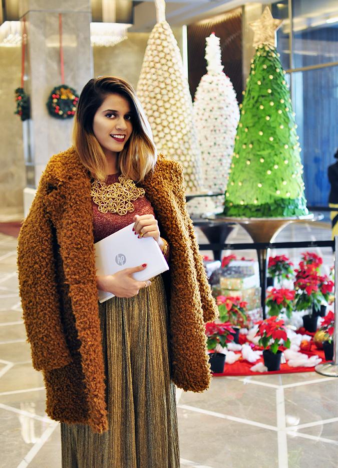 Christmas Cheer | Akanksha Redhu | edible trees laptop in hand