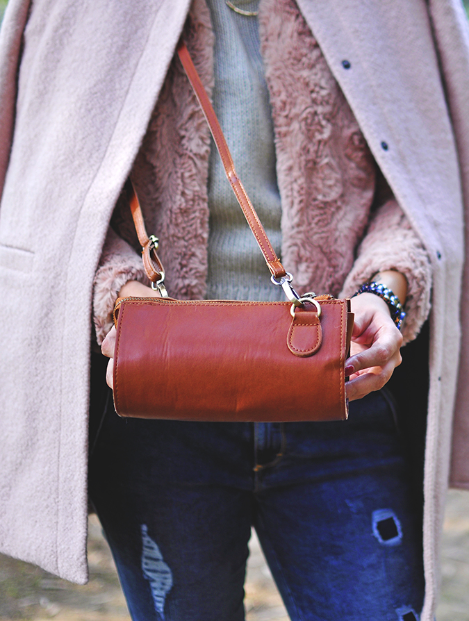 Warm n Fuzzy | Only India | Akanksha Redhu | front bag details