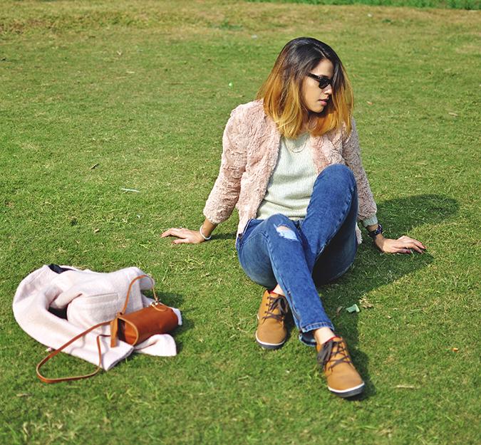 Warm n Fuzzy | Only India | Akanksha Redhu | grass