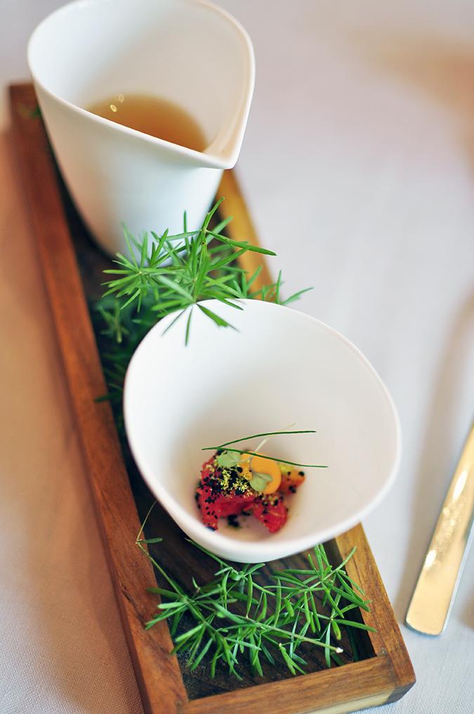 Pluck Restaurant - Pullman New Delhi | Akanksha Redhu | tomato appertif