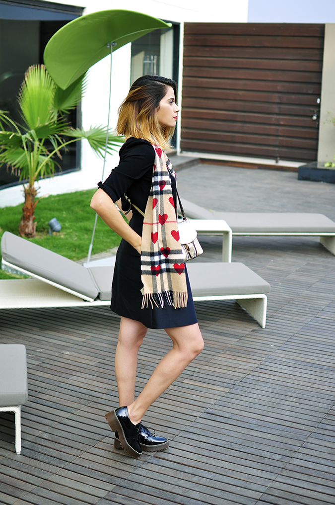 Burberry Festive | Akanksha Redhu | full side no coat