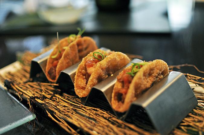 Akira Back - JW Marriott | Akanksha Redhu | tacos