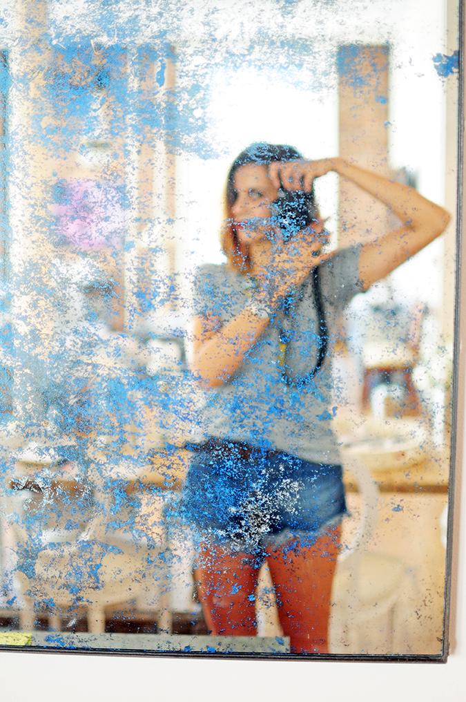 Negative Underwear | Akanksha Redhu | blue mirror