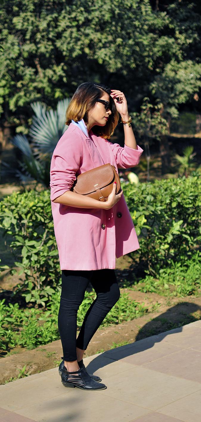 Fresh Pink | #ootd | Akanksha Redhu | full side long