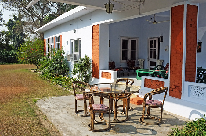 Akanksha Redhu | Travel India | house porch