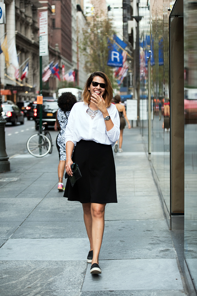 New York | Akanksha Redhu | #RedhuxNYC | walking smile