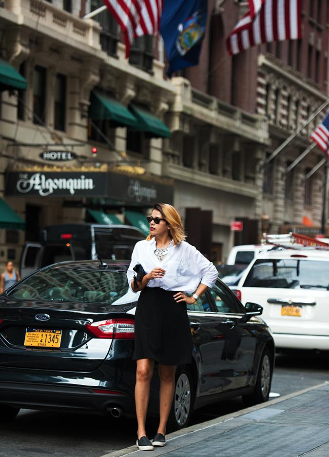 New York | Akanksha Redhu | #RedhuxNYC | full front arm on waist