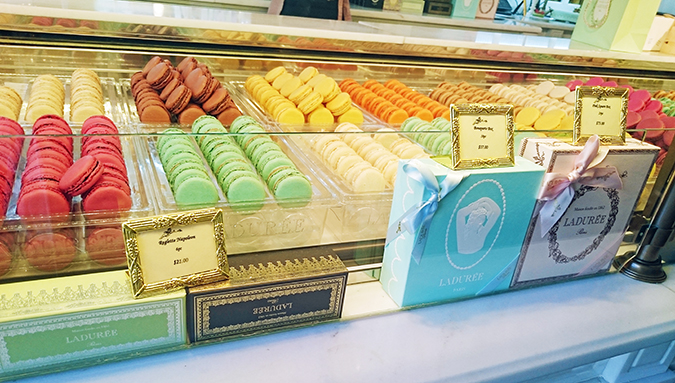 New York | Akanksha Redhu | #RedhuxNYC | Laduree macarons display