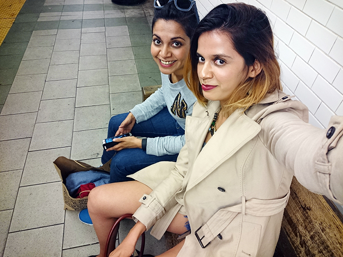 New York | Akanksha Redhu | #RedhuxNYC | subway station selfie