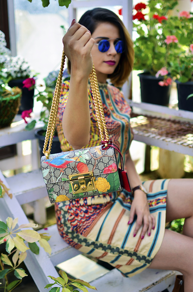 The Greenhouse | Gucci | Akanksha Redhu | sitting bag focus