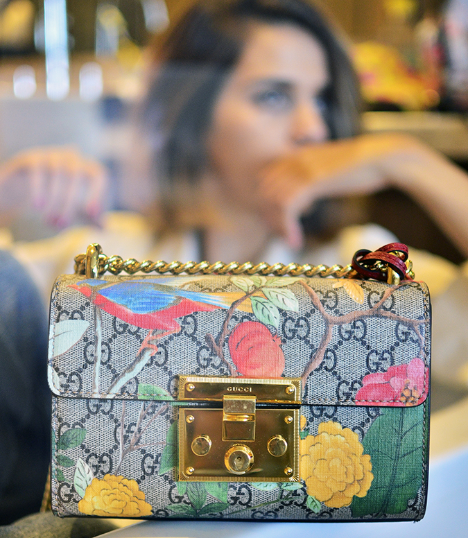 Gucci Tian | Akanksha Redhu | bag through glass