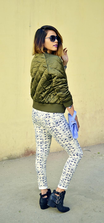 Print Life | Vero Moda | Akanksha Redhu | full side long jacket