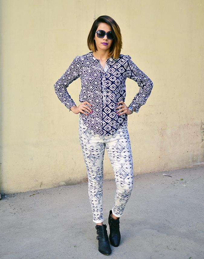 Print Life | Vero Moda | Akanksha Redhu | full front prints armson waist
