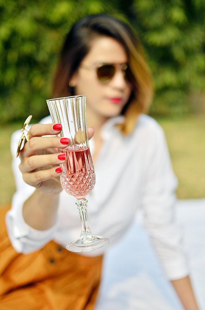 Valentine's Day Ready | Chandon India | Akanksha Redhu | focus on glass