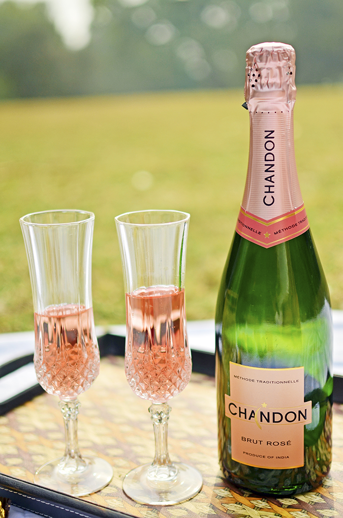 Valentine's Day Ready | Chandon India | Akanksha Redhu | bottle against sun
