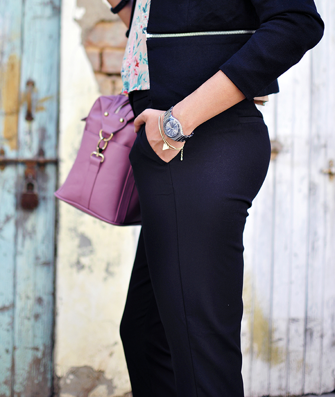 Formal Florals | Vero Moda | Akanksha Redhu | half bottom side butt
