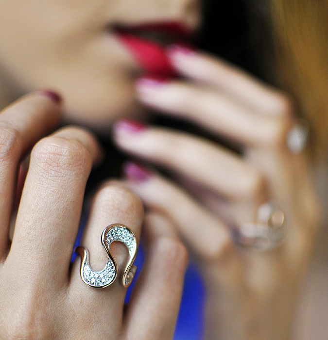 Melorra Jewelry | Akanksha Redhu | ring focus lips