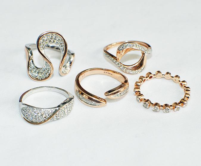Melorra Jewelry | Akanksha Redhu | rings closeup