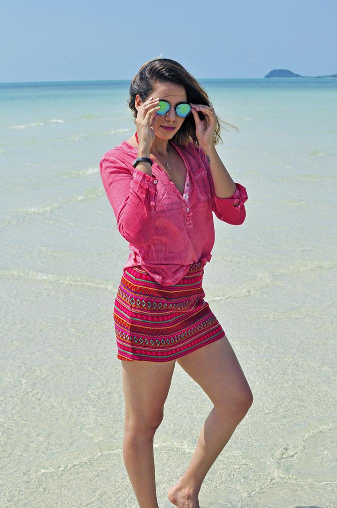Coconut Beach | Koh Samui | Akanksha Redhu | #RedhuxKohSamui | full front sea