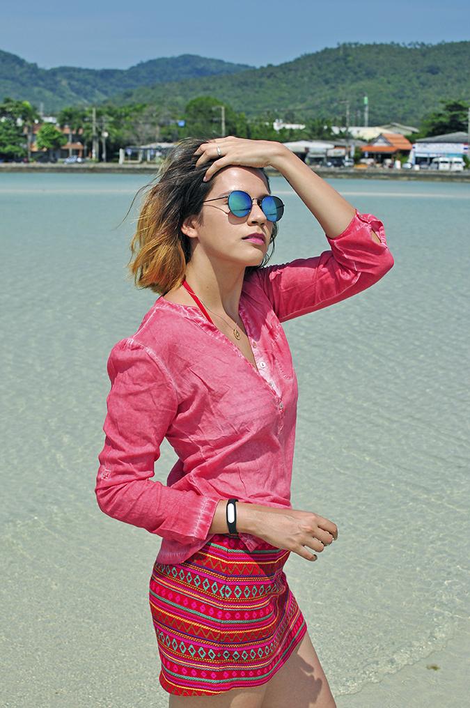 Coconut Beach | Koh Samui | Akanksha Redhu | #RedhuxKohSamui | half side pier back