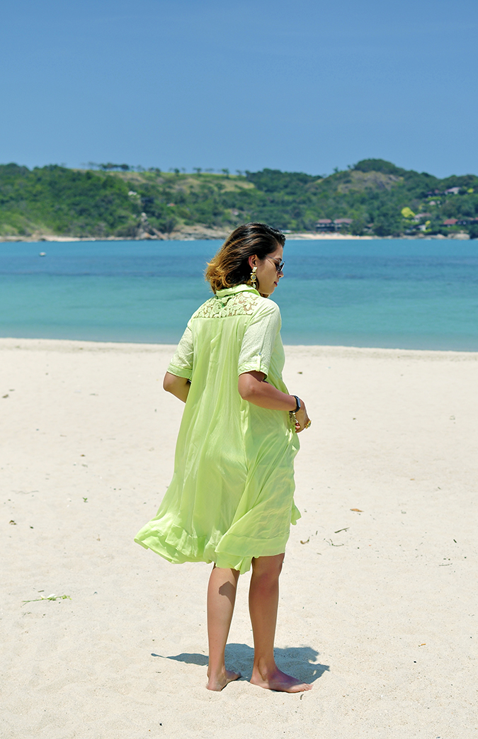 Chichouse | Choeng Mon Beach | Koh Samui | Akanksha Redhu | ful back