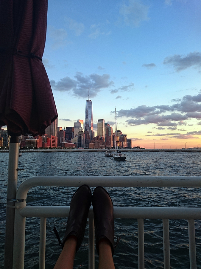 Hudson River Greenway | Akanksha Redhu | #RedhuxNYC | #eyesfornewyork | shoes and wtc