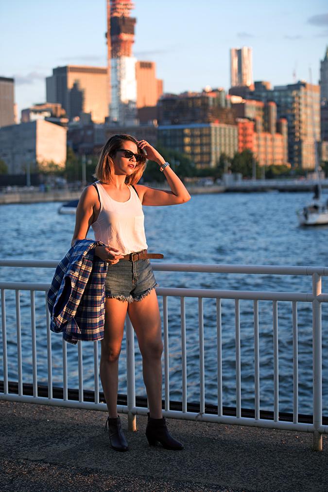 Hudson River Greenway | Akanksha Redhu | #RedhuxNYC | #eyesfornewyork | jacket in hand full water