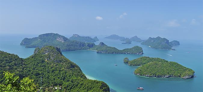Ang Thong National Marine Park | Akanksha Redhu | pano