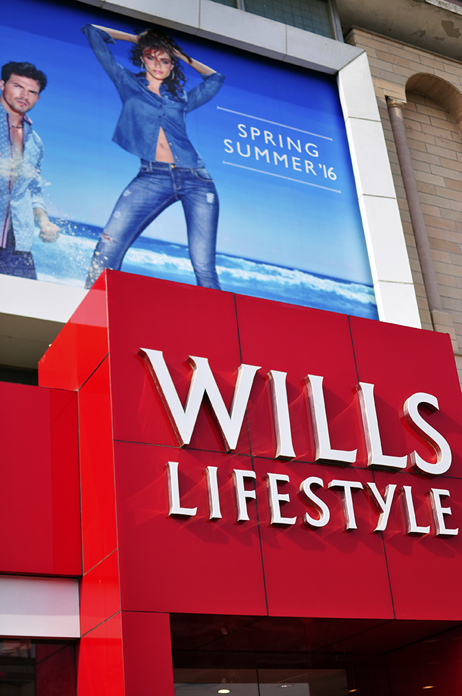 Wills Lifestyle | Akanksha Redhu | store exterior long