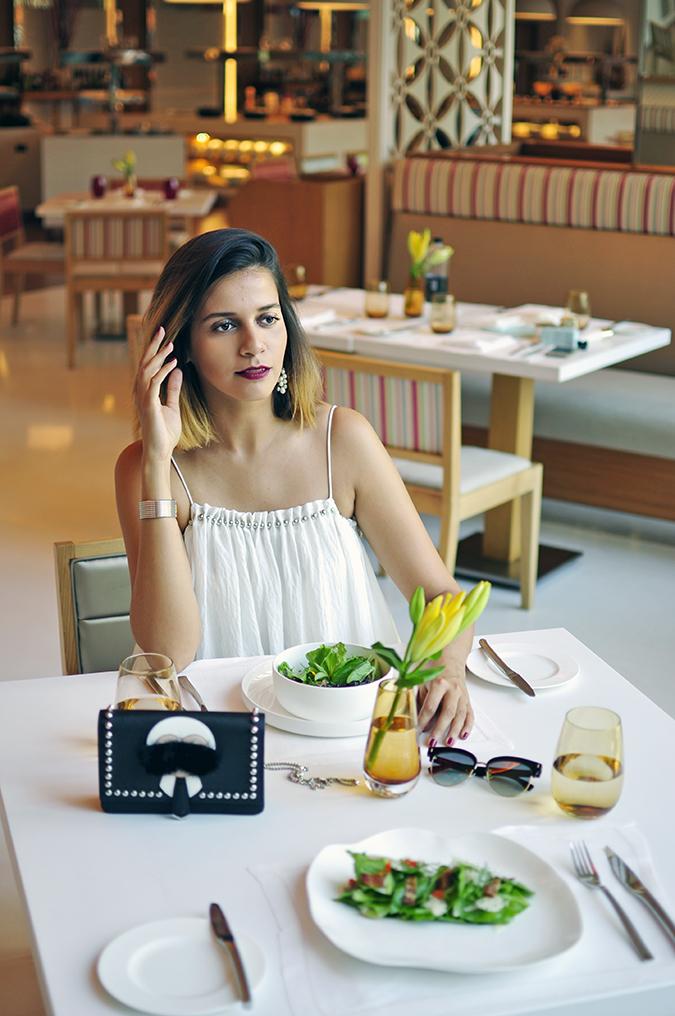 Estée Lauder | Akanksha Redhu | lunch sitting front