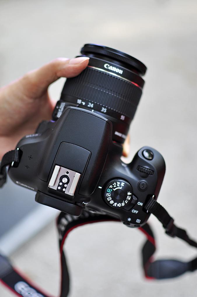 Canon EOS 1300D | Akanksha Redhu | #ReadyWithEOS1300D | top of camera