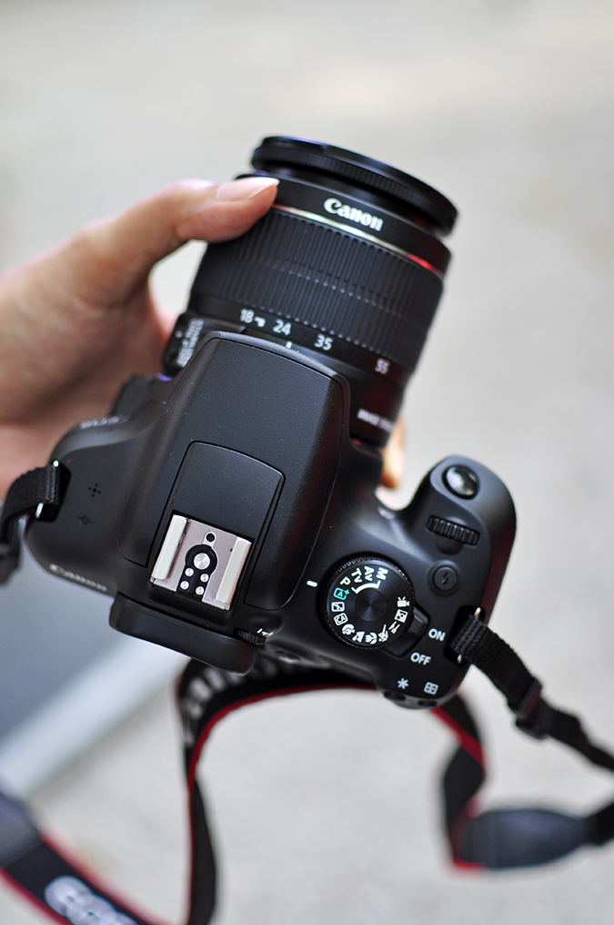 Canon EOS 1300D   Akanksha Redhu   #ReadyWithEOS1300D   top of camera