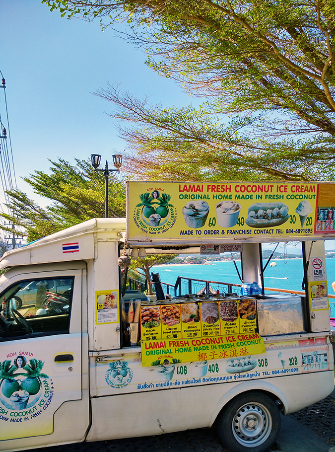 Koh Samui | Akanksha Redhu | ice cream truck