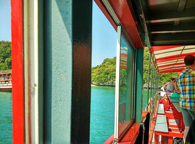 Ang Thong National Marine Park | Akanksha Redhu | inside boat wide