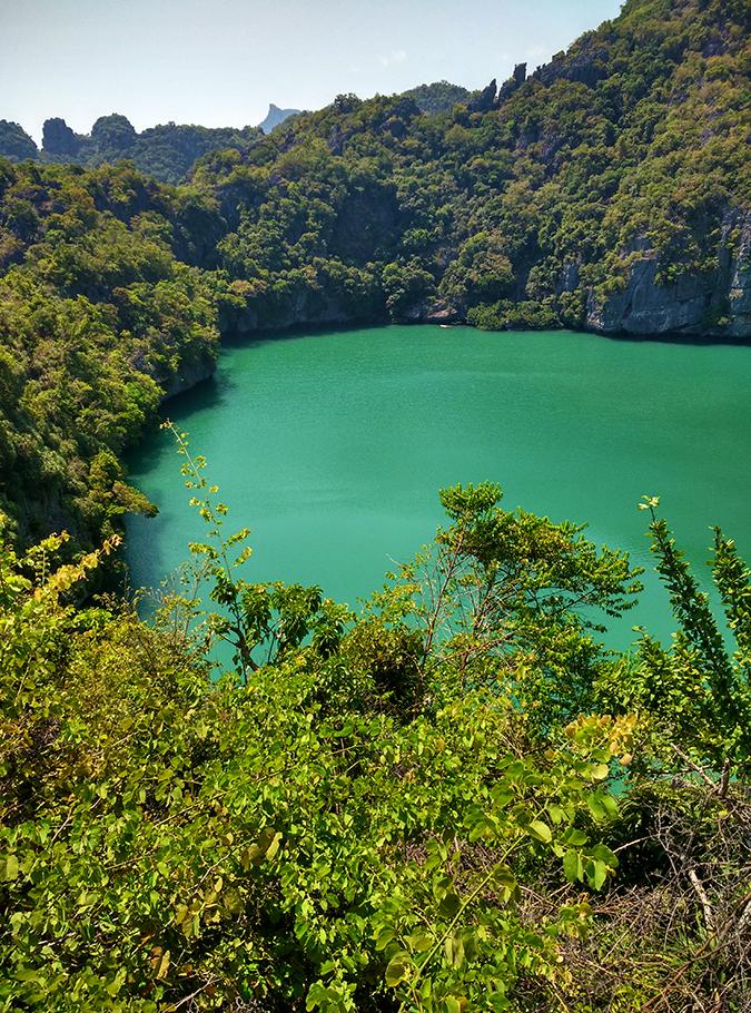 Ang Thong National Marine Park | Akanksha Redhu | emerald lake