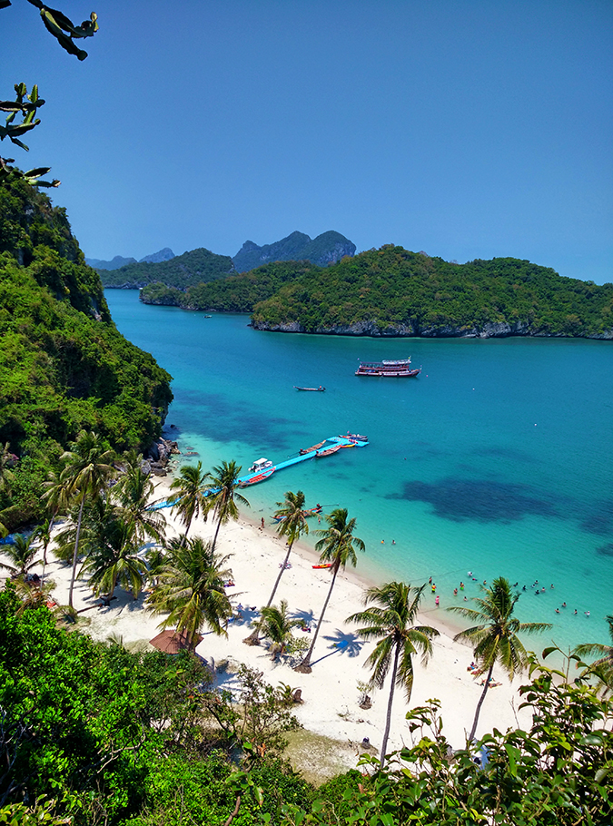 Ang Thong National Marine Park | Akanksha Redhu | beach from top