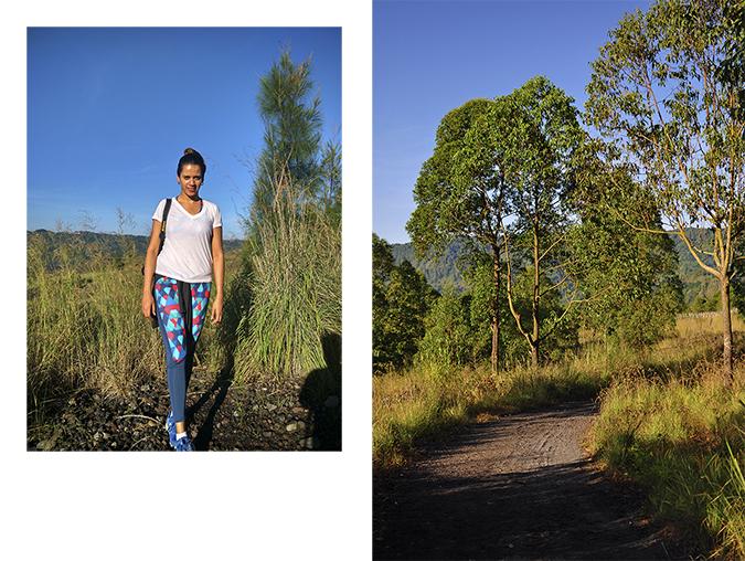 Mount Batur Sunrise Trek | Bali | Akanksha Redhu | combo full front bun hair