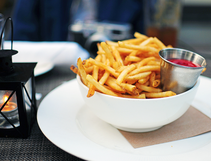 Tavern on the Green - Central Park | NYC | Akanksha Redhu | french fries